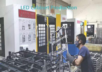 LED cabinet Production