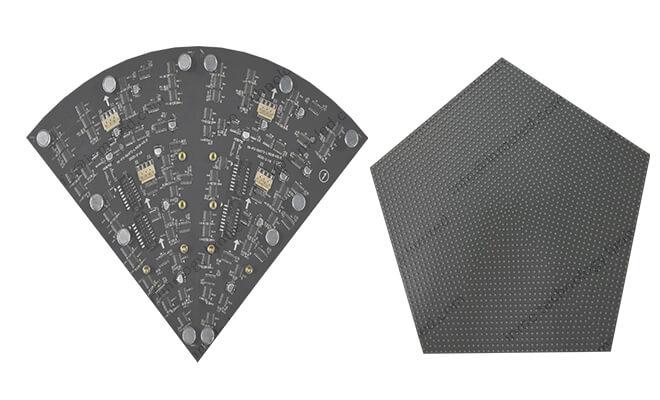 Shape LED module